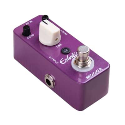 Mooer Echolizer Digital Delay true bypass effects Guitar Pedal