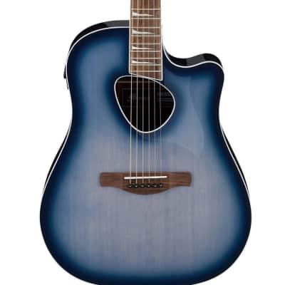 Ibanez ALT30 Altstar Acoustic-Electric Guitar, Indigo Blue Burst