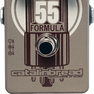 New Catalinbread Formula 55 Foundation Overdrive Guitar Effects Pedal!