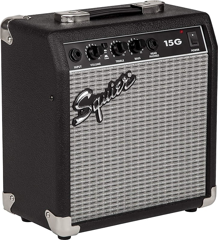 squier 15g by fender 120v guitar combo amp family piano co reverb. Black Bedroom Furniture Sets. Home Design Ideas