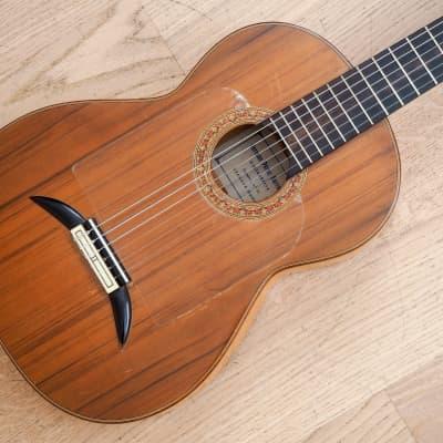 Germán Pérez Barranco Flamenco Guitar Nylon String Spain w/ Case for sale