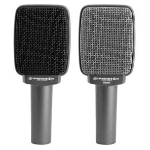 Sennheiser e 609 Silver Supercardioid Dynamic Microphone for Guitar Amps