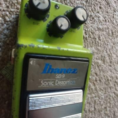 Vintage Ibanez SD-9 Sonic Distortion