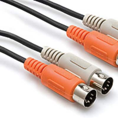 Hosa MID-204 4 Meter Dual MIDI Cable, Dual 5-pin DIN to Dual 5-pin DIN