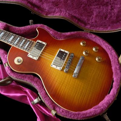 Gibson Les Paul Standard Plus Top LP5+ Heritage Cherry Sunburst 50's Neck - 1 Piece Body for sale