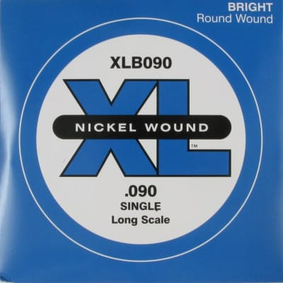 D'Addario XLB090 Bass Single