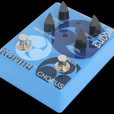 Budda Boutique Effects Pedals Karma Chorus Guitar Pedal for sale
