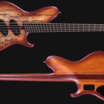 Maruszczyk PADDOCK 5a 'Spalted Maple' Headless Multiscale