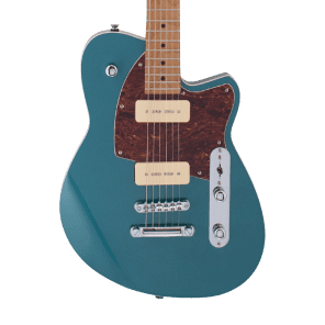 Reverend Charger 290 with Roasted Maple Neck Deep Sea Blue