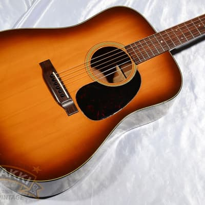 Martin 1975 D 18 Shaded Top