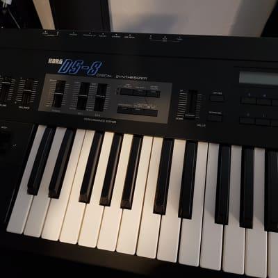 Korg DS-8 1987 Black