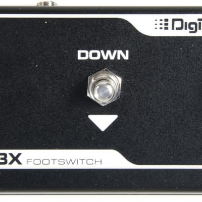 Digitech FS3X 3 Function foot switch for Trio, JHE and Jamman Looper for sale