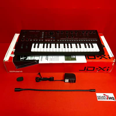 [USED] Roland JD-Xi Interactive Analog/Digital Crossover Synthesizer (See Description).