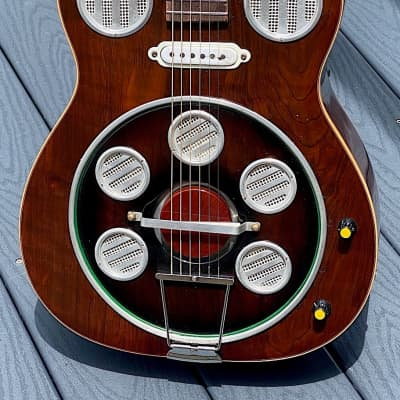 Del Vecchio Dinamico Electric Resonator 1980 gorgeous & user friendly ! for sale