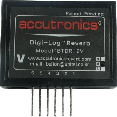 Reverb Module - Accutronics, Digi-Log, Mini, Vertical Mount, Decay Length: Medium (2.5 seconds) image