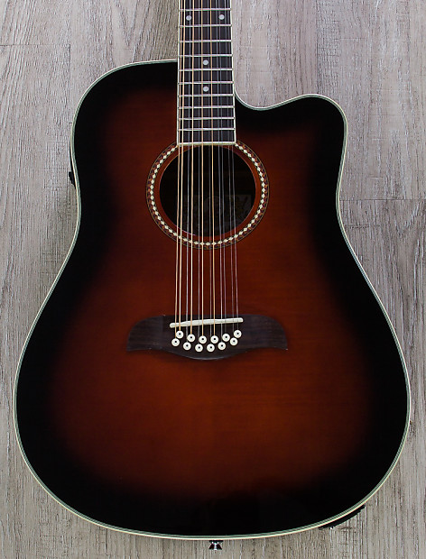 Oscar Schmidt OD312CE 12-String Acoustic-Electric Guitar