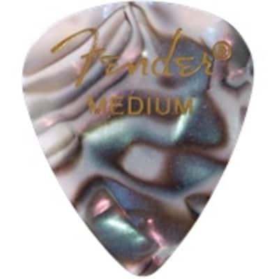 Fender Abalone Medium Picks, 12-pack for sale
