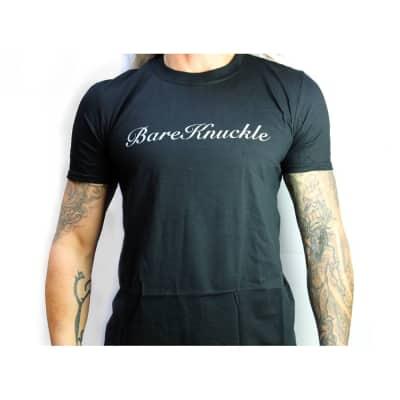Bare Knuckle Black Classic Script Logo Cotton Tee Shirt T-Shirt Medium M