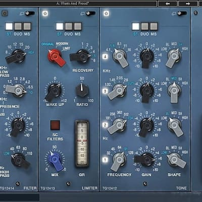 Waves Abbey Road TG Mastering Chain image
