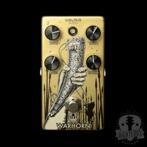 War Horn Mid Gain Overdrive -  Walrus for sale