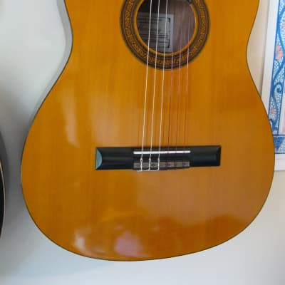 Harmony H6144 Vintage 1970s Korean-Made Classical/Folk Nylon-Strung - Ideal First Acoustic Guitar. for sale