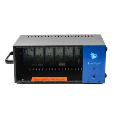 API 500-6B Lunchbox 6-Slot Powered 500 Series Frame