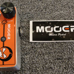 Mooer Baby Bomb 30 30 Watt Digital Guitar Power Amp Micro Effects Pedal Size 2017 Red