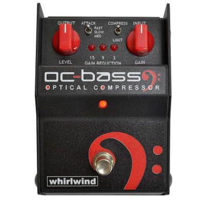 Whirlwind FXOCBP OC BASS Optical Bass Compressor Pedal for sale