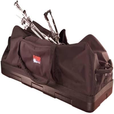 "Gator GPHDWE1436PE Drum Hardware Bag; 14"" X 36""; w/ Wheels & Molded Reinforced Bottom"
