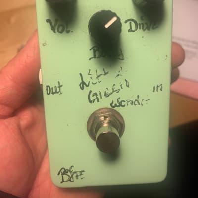 BJFE Little Green Wonder Overdrive (3-Knob)