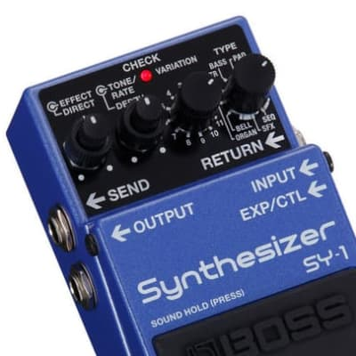 BOSS SY1 GUITAR SYNTHESIZER PEDAL for sale