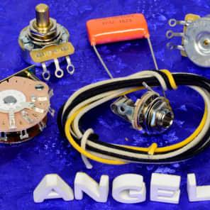 angela instruments level 3 wiring kit jensen aluminum reverb angela instruments level 2 premium 3 way wiring kit for fender telecaster new