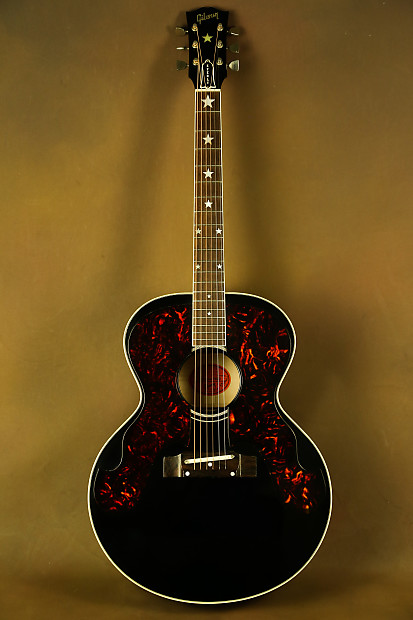 2004 ren ferguson gibson j 180 everly brothers ebony original reverb. Black Bedroom Furniture Sets. Home Design Ideas
