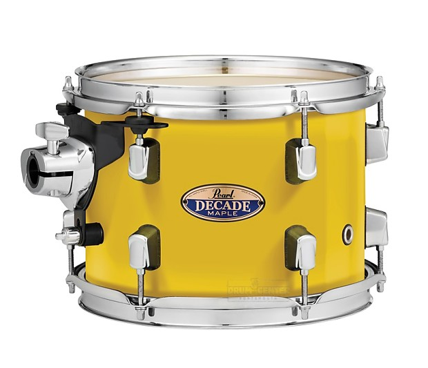 Pearl decade maple floor tom 14x14 solid yellow reverb for 14x14 floor tom