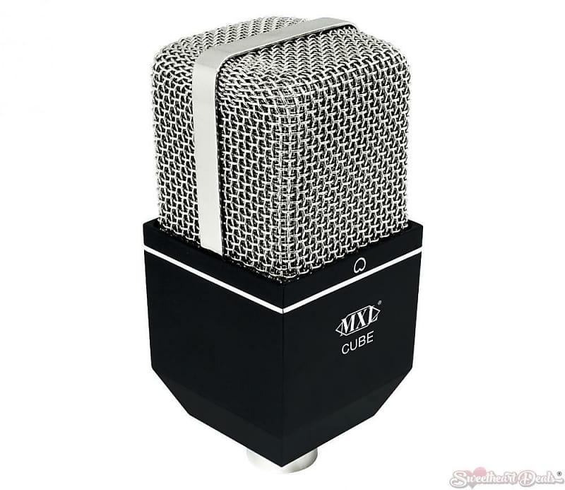mxl cube condenser microphone for drums sweetheart deals reverb. Black Bedroom Furniture Sets. Home Design Ideas