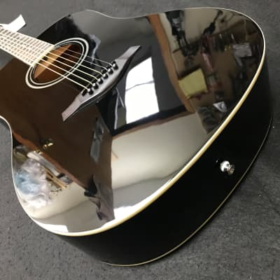 Hohner AS305 A+ Dreadnought Acoustic Guitar Black for sale