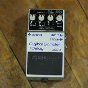 Boss DSD-2 Digital Delay Sampler Pedal