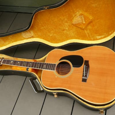 Yamaki NO.140 Hand Crafted Japan Vintage Guitar 1970's Natural for sale