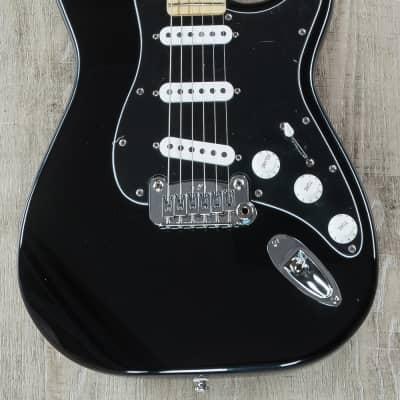 G&L Tribute Special Edition Legacy Electric Guitar, Maple Fretboard, Black Pickguard - Black Finish for sale