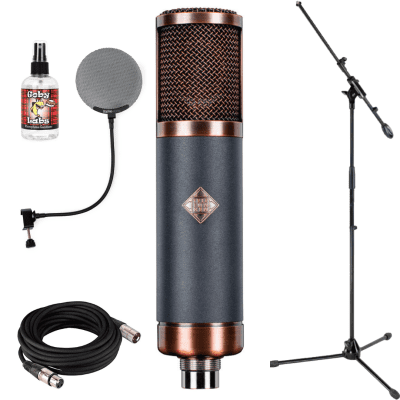 New Telefunken TF39 Copperhead Deluxe Large Diaphragm Multipattern Tube Condenser Microphone