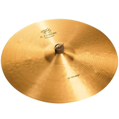 "Zildjian K1060 20"" K Zildjian Series Constantinople Bounce Ride Medium Thin Drumset Cast Bronze Cymbal with Dark/Mid Sound and Large Bell Size"