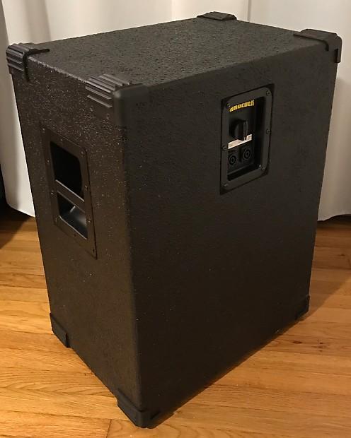 Schroeder 310PL Bass Cabinet W/ Custom Slipcover And Auralex Gramma Pad
