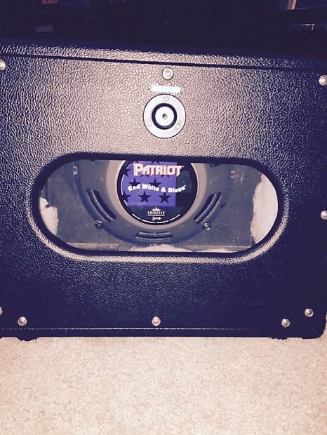 fuchs mini 1x12 guitar speaker cabinet with eminence red reverb. Black Bedroom Furniture Sets. Home Design Ideas