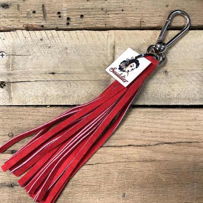 Souldier Purse/Strap/Keychain Tassel in Red