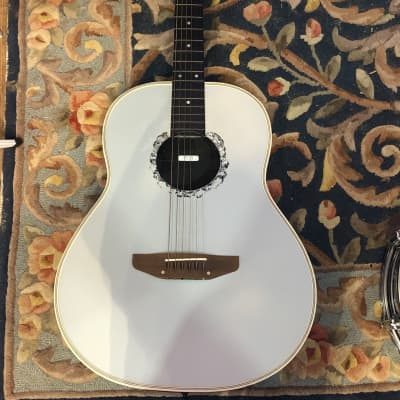 Academy Roundback Acoustic Guitar Baby Blue for sale