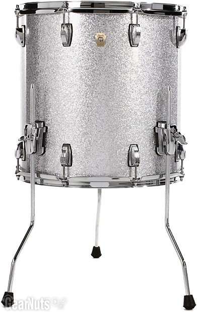 Ludwig classic maple floor tom 16 x 16 silver reverb for 16 x 16 floor tom