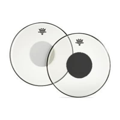 """Remo Drumhead Controlled Sound Clear with Black Dot 22"""""""