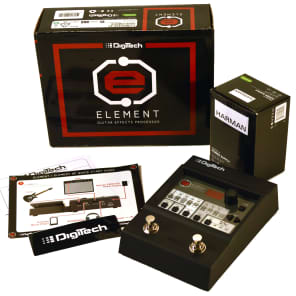 DigiTech ELEMENT Guitar Multi-Effects Pedal Processor with Power Supply for sale