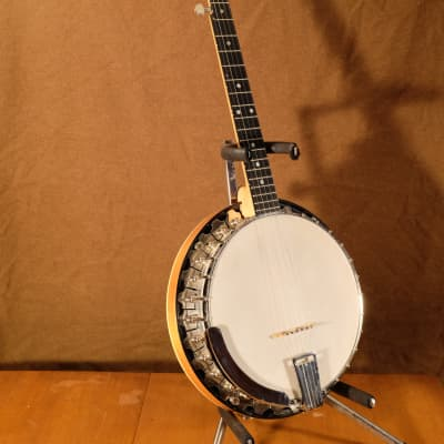 ODE Model 33F Long Neck, Grade 2, 5 String Resonator Banjo, 1964 for sale