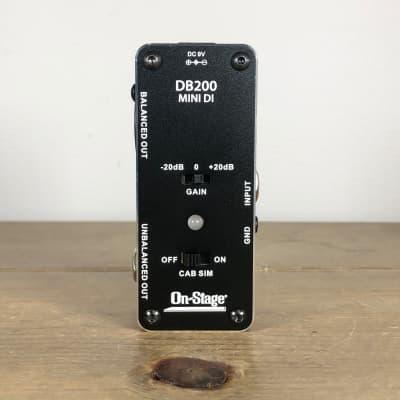 On-Stage DB200 Mini Direct Box